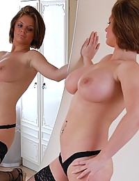 Luxurious crummy mom works sexual miracles in black tits and strings only!