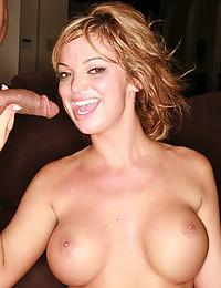 Fit big tits beauty takes cock