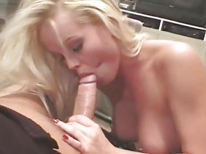 Silvia Saint sucks Henry\'s cock in 69 position and gets cum in her mouth