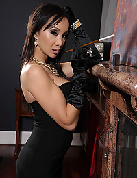 Luscious Asian Katsuni Rides Hard Dick