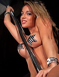 Tight Bodied Nikki Strips Down