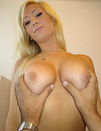 Young Teen Has Huge Tits