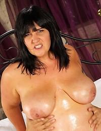 Sexy wet tits on fatty