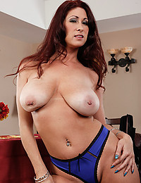 Milf redhead with big tits