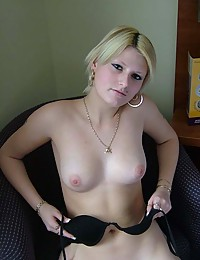 Photo collection of an amateur sexy cutie who swallowed jizz