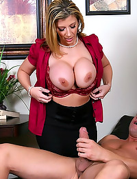 Sara Jay boned in stockings