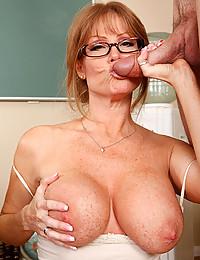 Horny Teacher Fucked On The Desk