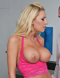 Naughty Minx Riley Impaled On Dick