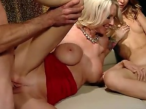 Salty and Sensual Threesome with Blondes Emma Starr and Monique Alexander