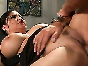 Sophia Lomeli hot babe making love with her office mate