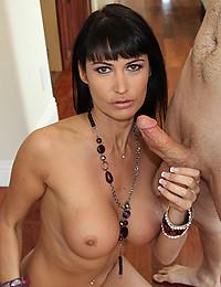 Leggy Milf Eva Smothers Hard Dick