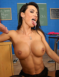 Sultry Franceska Jaimes Rides Thick Cock