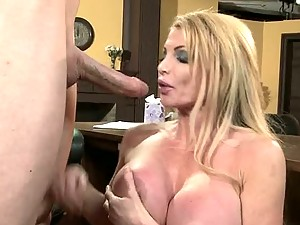 Mommy Taylor Wane Will Take Care Of His Big Shaft