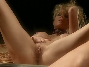 Stunning Blonde MILF Julia Ann Fingers Her Pussy In Front Of a Mirror