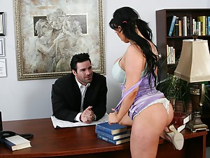 Naughty Kerry Spreads Pussy For Dick