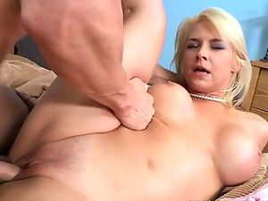 Incredibly Hot Blonde Slut Sarah Vandella Gets Fucked and Facialized