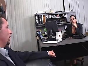 Busty MILF Veronica Rayne Milks A Hard Dick