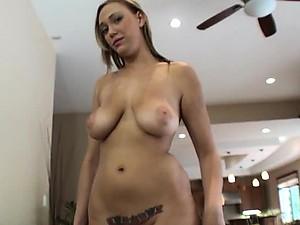 Tattooed Blonde Girlfriend Alexia Rae's Amateur POV Porn Video
