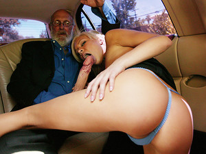 Porn Pros Network - Fresh 18 year old slut Kacey Jordan was giving this rich old fucker a blowjob in the backseat when and the limo driver Ron Jeremy one hell of a show! He was so turned on he couldn't wait to get Kacey alone and drive his cock in her tin