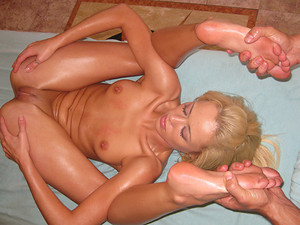 Porn Pros Network - Rebecca was just recently in a car accident and her poor petite body was in so much pain. The moment I saw this girl I knew I had to have her succumb to my creepy massage touches. I rubbed oil all over her body and strectched out her m