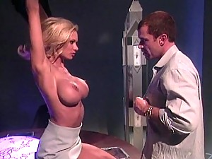 Sinful Blonde Slut Gets Fucked and Fisted in the Butt