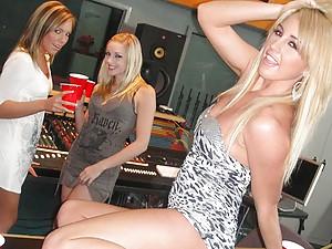 Drunk Sluts At Studio