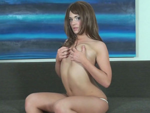 Stacy Shey - Since Stacy Shey is hot as fire, she really needs to play with ice in order to cool herself down - and to heat you up, of course! Watch her get wet!
