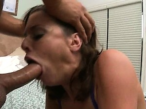 Cock-Hungry Brunette MILF Veronica Avluv Gets Fucked and Facialized