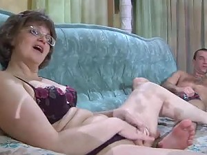 Naughty Mom Seduces a Her Husband