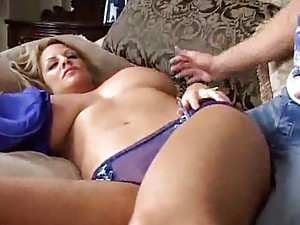 Incredible big tits on milf fucked hard