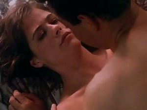 Maura Tierney Speaks on the Phone While Getting Fucked