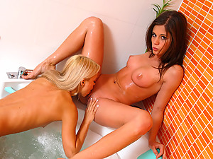 Little Caprice - Both teen kitties featured in this lesbian sex scene are irresistible, so you are guaranteed to get your mind blown when you see them coming loose!