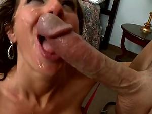 Sensual Brunette MILF Veronica Avluv Gets Her Shaved Pussy Fucked Hard