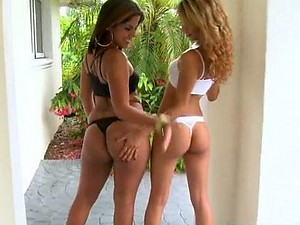 Cock-Bursting Threesome With Two Extremely Horny Lesbian Latinas