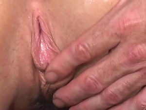 Brunette Milf Fucking For a Facial