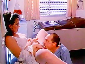 Blow job master class from classic 70s porn