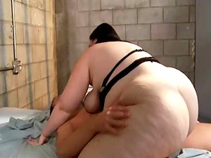 Chubby babe jailed