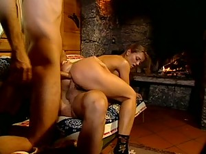 Gorgeous Euro Star Rita Faltoyano Gets Double Penetrated In Threesome