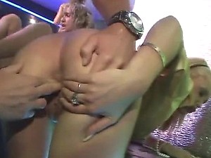 Cock Sucking Action In A Group Sex Party