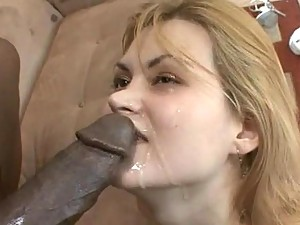 Marina Maywood in Interracial Sex Scene gets a Facial