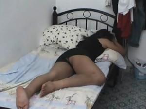 Man licking girlfriend pussy