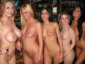 Drunk Sluts Enjoy Horny Male Stripper